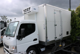 2017 Fuso Canter FRIDGE BODY Refrigerated truck