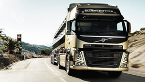 The new Volvo FM Volvo Dynamic Steering. Total control without strain.