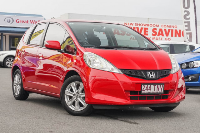 2013 Honda Jazz GE MY13 Vibe Hatchback