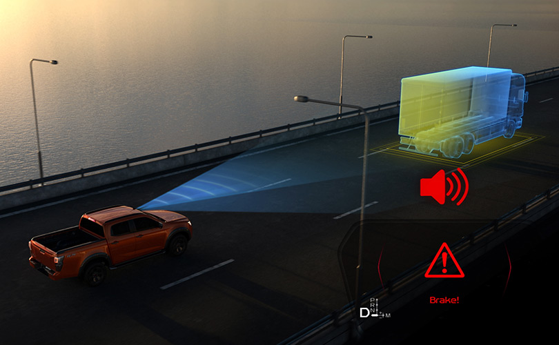 FORWARD COLLISION WARNING Image