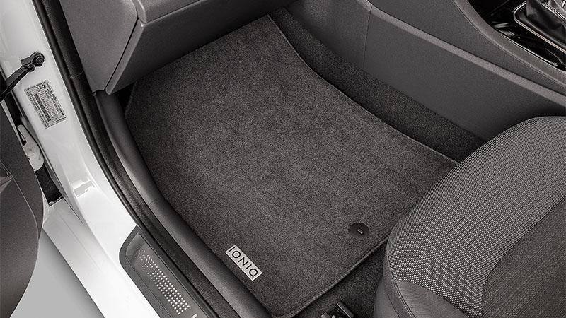 "<img src=""Tailored carpet floor mats (set of 4)."