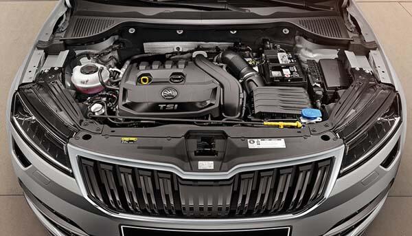 Karoq One engine that's the triple threat