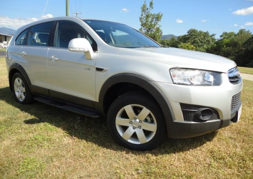 2013 MY12 Holden Captiva CG Series II  7 7 - SX Wagon