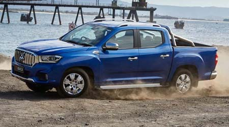 T60 Ute Dual Cab And its crawling with safety features