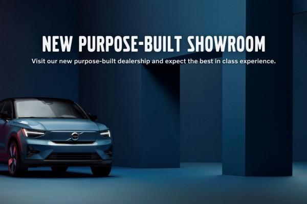 New Purpose-Built Volvo Showroom