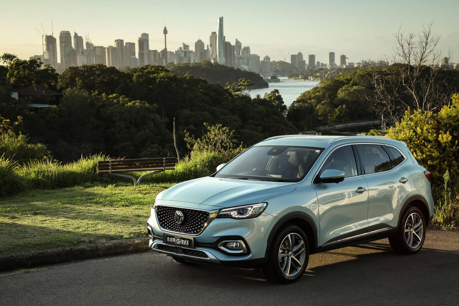 MG HS Plug-In Hybrid arrives in Australia