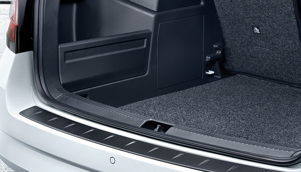 Fabia Luggage Compartment