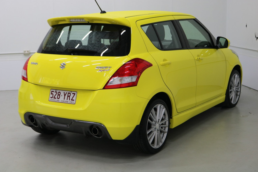 2015 Suzuki Swift FZ MY15 SPORT Hatchback