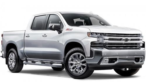 2020 Chevrolet Silverado LTZ Premium Edition Utility