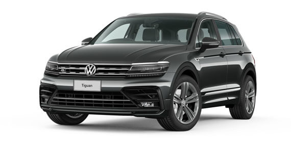 2019 MY19.5 Vehicle . volkswagen Tiguan 5N R-Line Edition Wagon