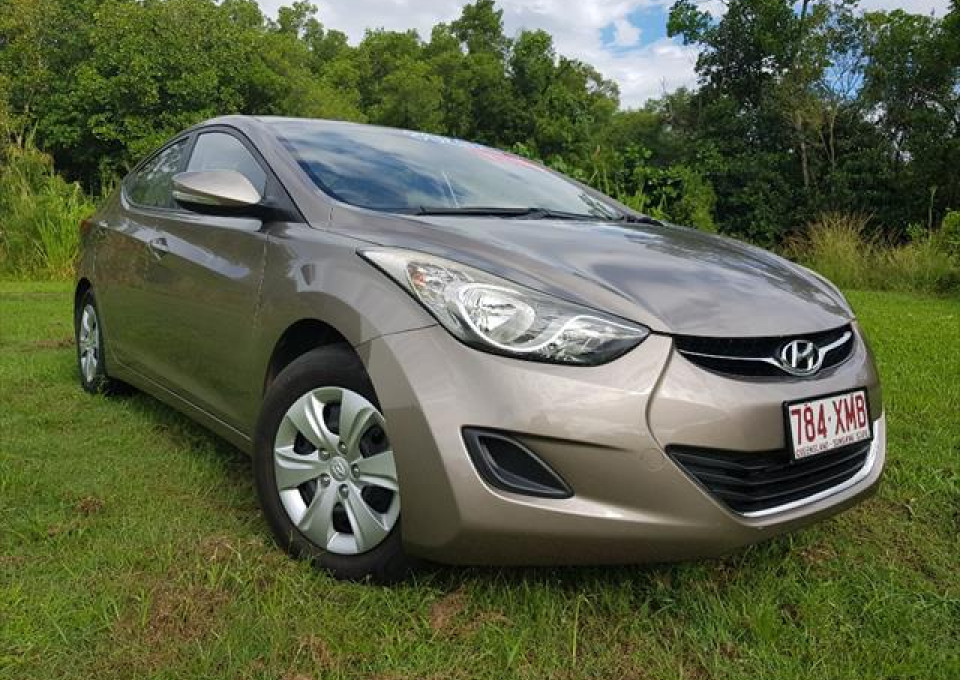 2012 Hyundai Elantra MD Active Sedan