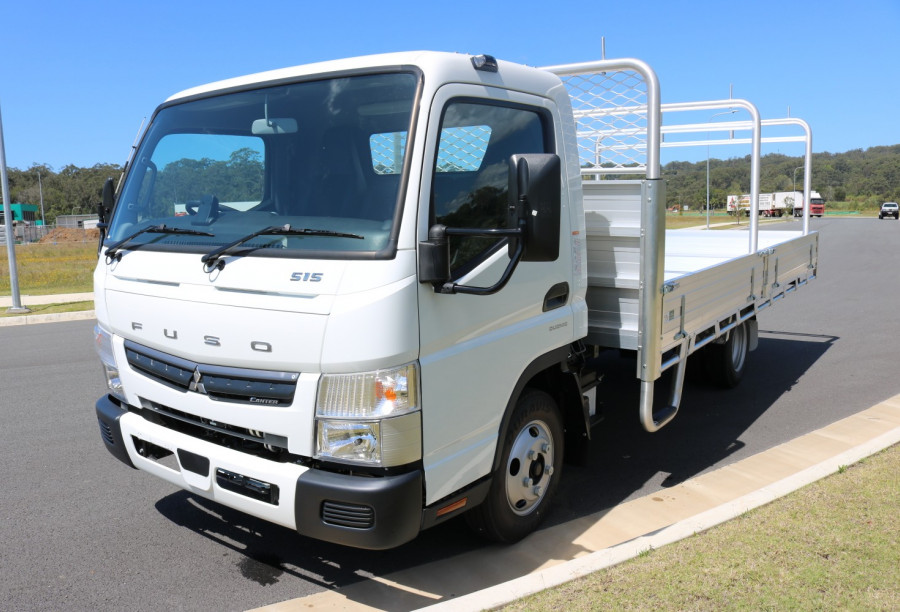 2020 Fuso Canter 515 Wide Tradesman Tray + INSTANT ASSET WRITE OFF TRADIE TRAY 515 WIDE CAB WITH TOW BAR Tray