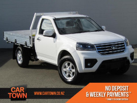 Great Wall Steed Cab Chassis 4x2 Diesel *Add $3000 for Alloy Deck*