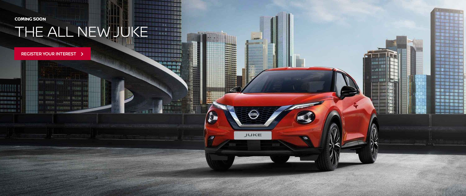 The all new Nissan Juke