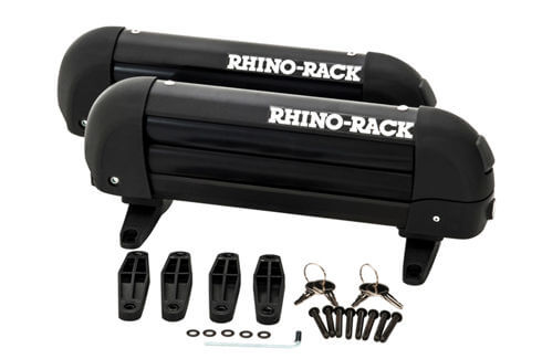 Rhino-Rack locking ski and snowboard carrier 2 skis