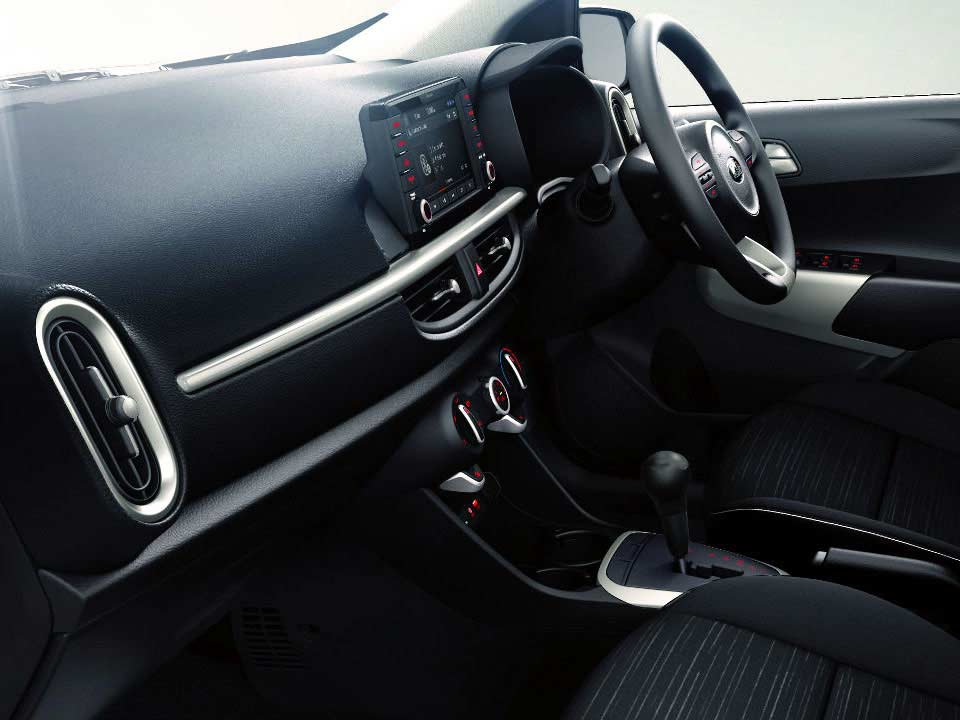 Picanto Stylish Interior that's Good to Go