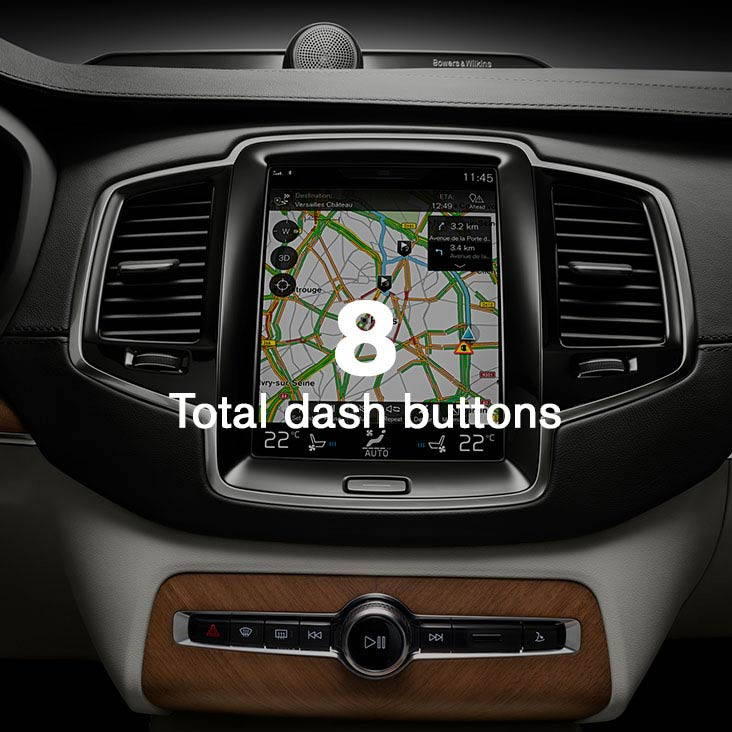 XC90 Intuitive interface