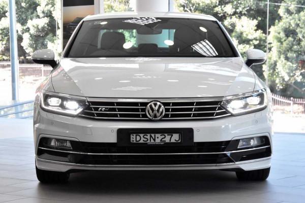 2017 Volkswagen Passat 3C (B8)  206TSI R-Line Sedan