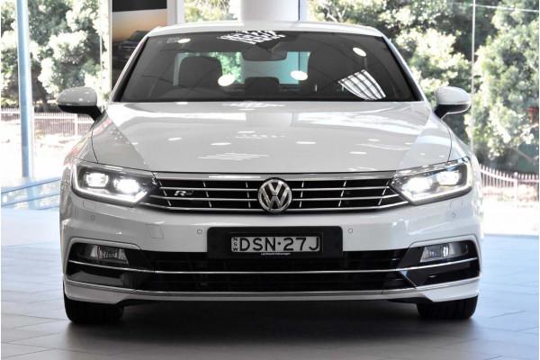 2017 Volkswagen Passat 3C (B8)  206TSI R-Line Sedan Image 4