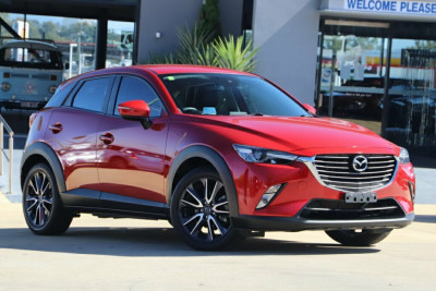 2017 Mazda CX-3 DK4W7A sTouring SKYACTIV-Drive i-ACTIV AWD Suv