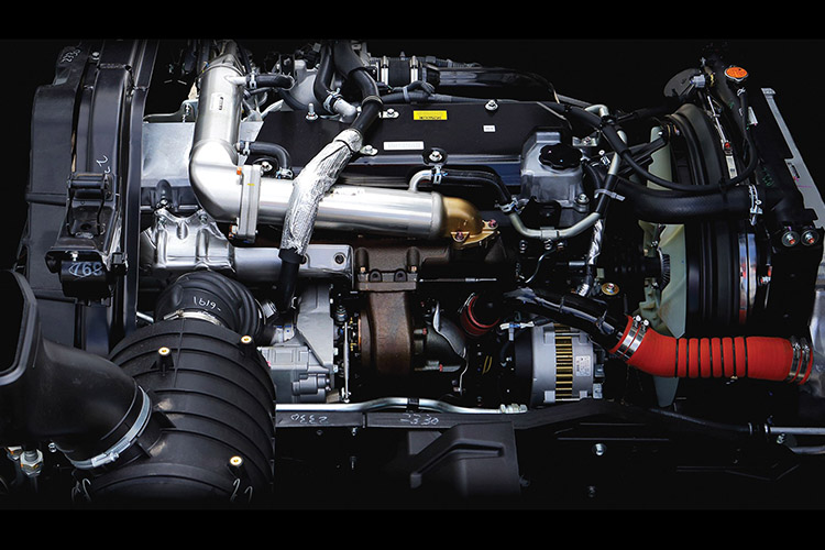 FX Series High-torque 9.8 litre engine