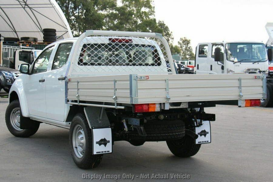 2018 Isuzu UTE D-MAX 4x2 SX Crew Cab Chassis High-Ride Cab chassis