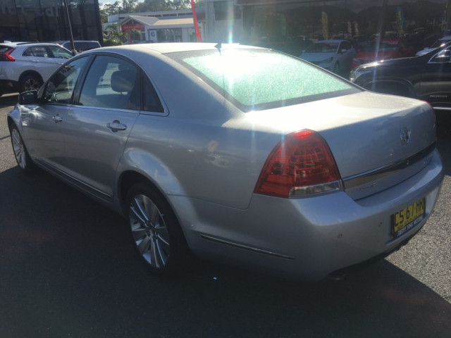 2011 Holden Caprice WM II Sedan