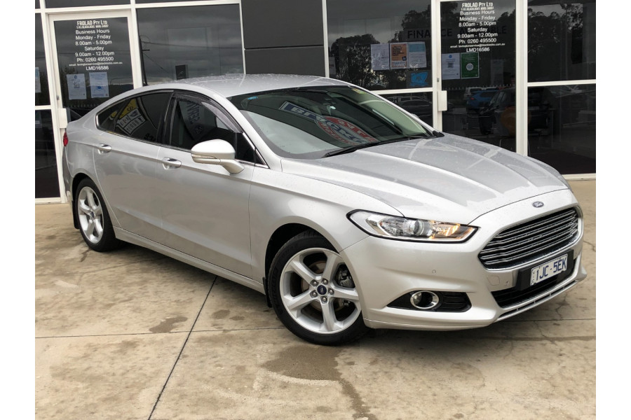 2017 MY17.50 Ford Mondeo MD 2017.50MY TREND Hatchback