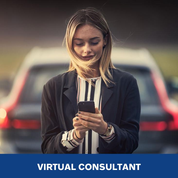 The Virtual Volvo Consultant.