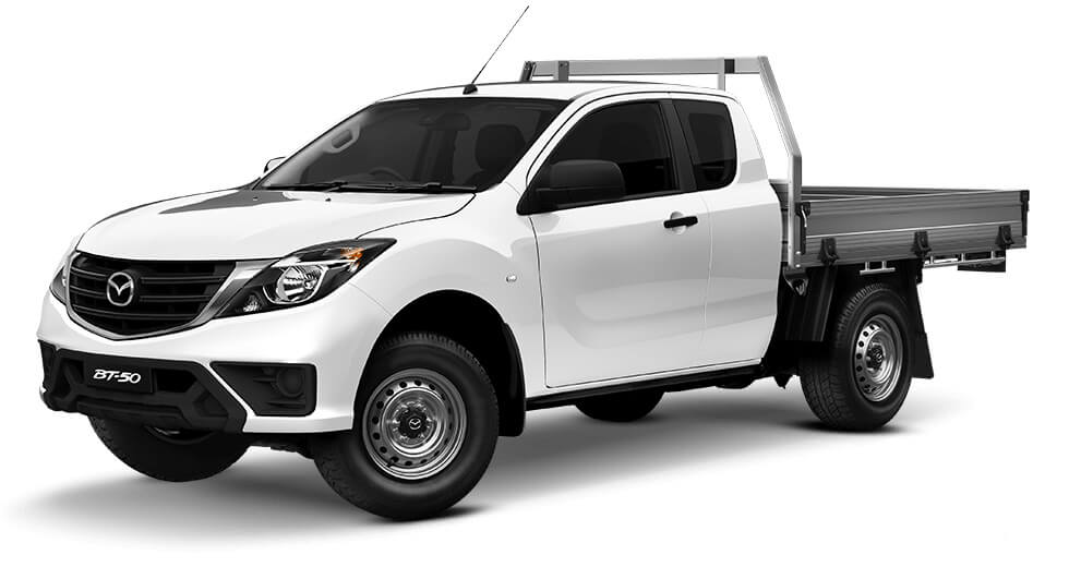 2018 MYch Mazda BT-50 UR 4x2 3.2L Freestyle Cab Chassis XT Cab chassis