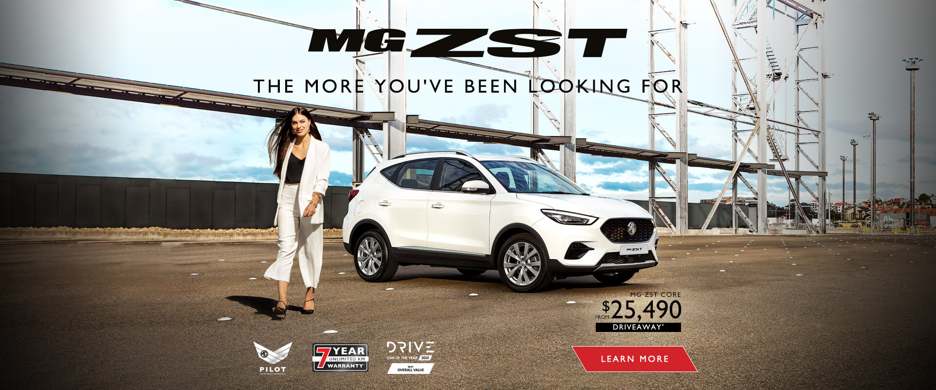 MG ZST. The more you've been looking for.