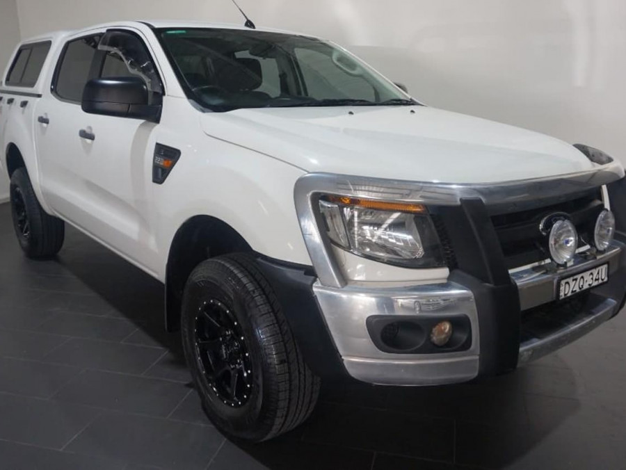 2013 Ford Ranger PX Turbo XL Ute