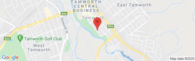 Tamworth MG Map