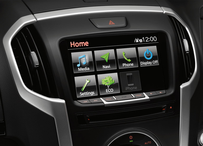 Touchscreen Satnav system Image
