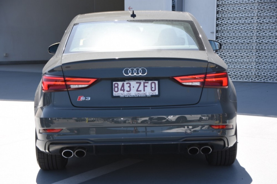 2019 Audi S3 2.0L TFSI S-tronic Quattro 213kW Sedan Image 4