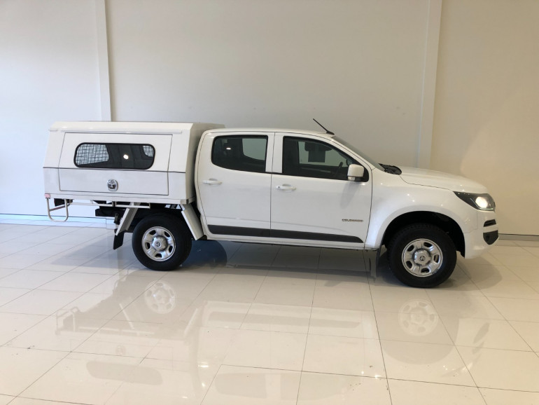 2016 Holden Colorado RG Turbo LS 2wd c/c chassis Image 2
