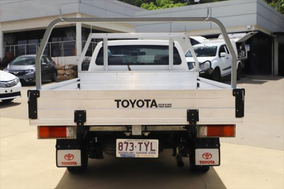 2014 Toyota HiLux KUN16R MY14 SR Cab chassis Image 4