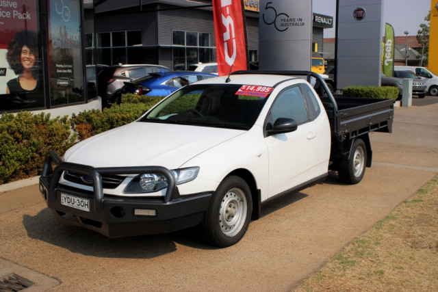 2011 Ford Falcon FG Cab chassis - extended cab