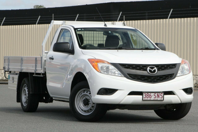 2012 Mazda BT-50 UP0YD1 XT 4x2 Cab chassis