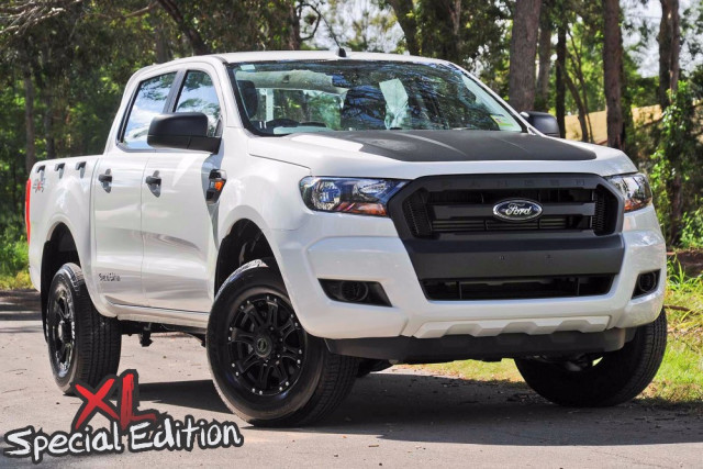 2016 MY17 Ford Ranger PX MkII 4x4 XL Double Cab Chassis 2.2L Ute