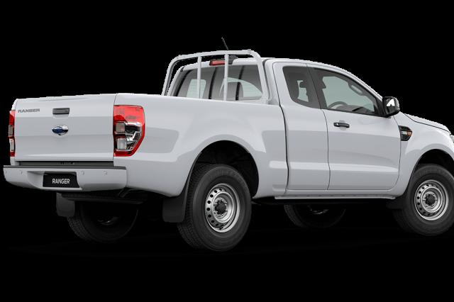 2020 MY21.25 Ford Ranger PX MkIII XL Super Cab Utility