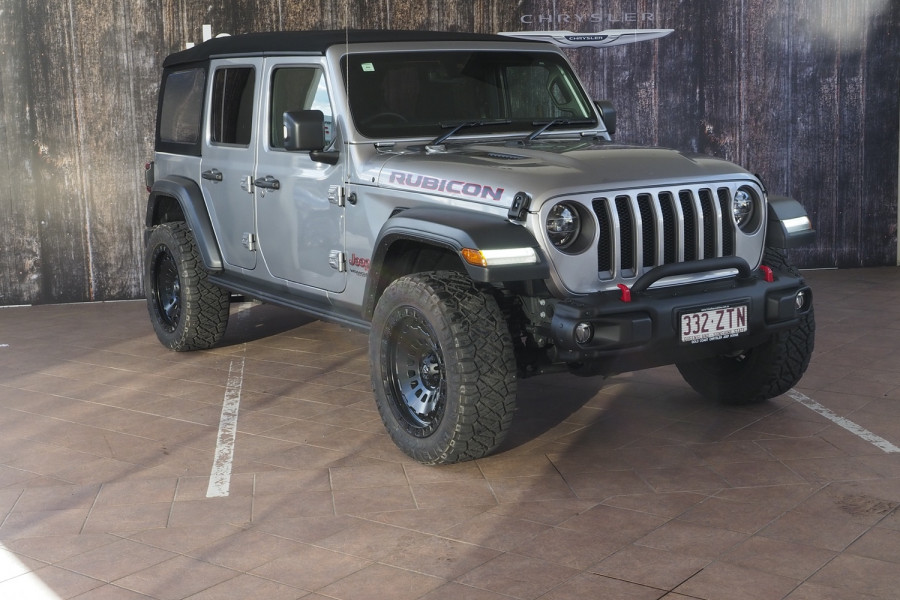 2019 MY0  Jeep Wrangler JL Rubicon Unlimited Suv