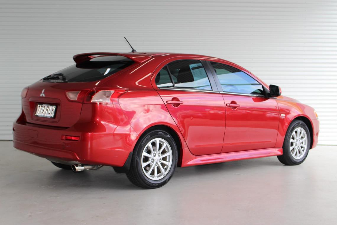 2010 MY11 Mitsubishi Lancer CJ MY11 VR Hatchback
