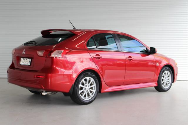 2010 MY11 Mitsubishi Lancer CJ MY11 VR Hatchback Image 2