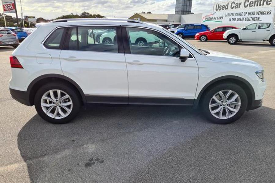 2018 MY19 Volkswagen Tiguan 5N  132TSI 132TSI - Comfortline Suv