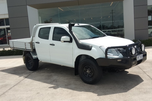 2018 MY17 Isuzu Ute D-MAX MY17 SX Cab chassis Mobile Image 2