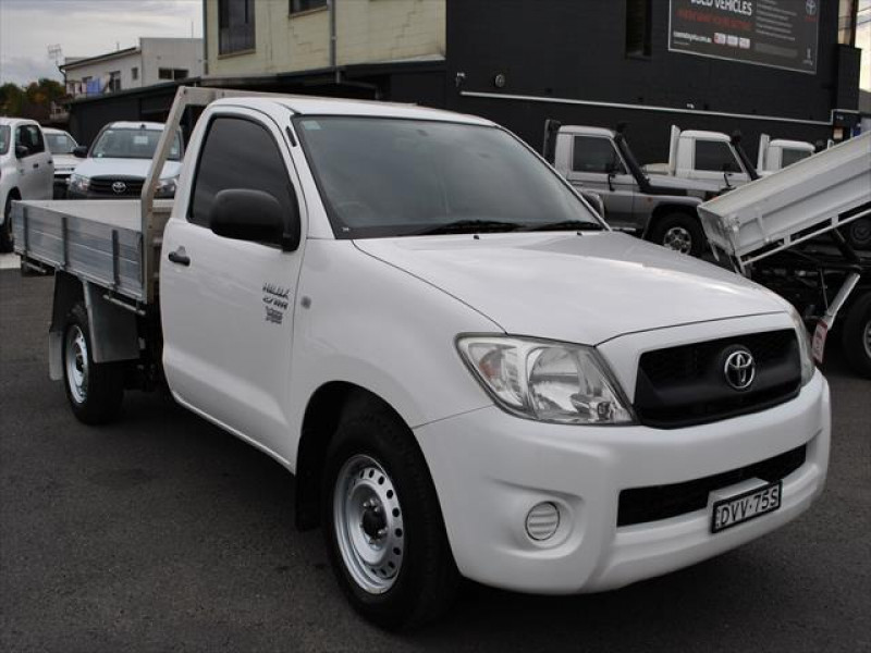 2010 Toyota HiLux TGN16R  Workmate Cab chassis - single cab