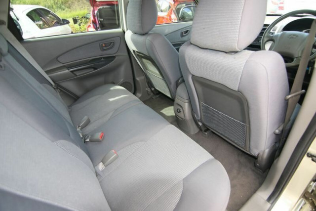 2007 Hyundai Tucson JM MY07 City SX Wagon