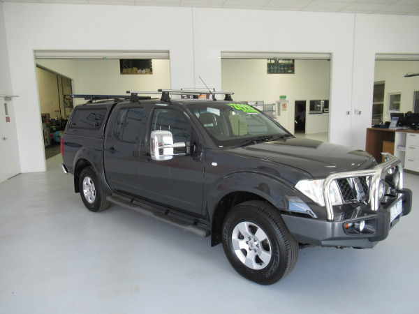2007 Nissan Navara D40 ST-X Utility