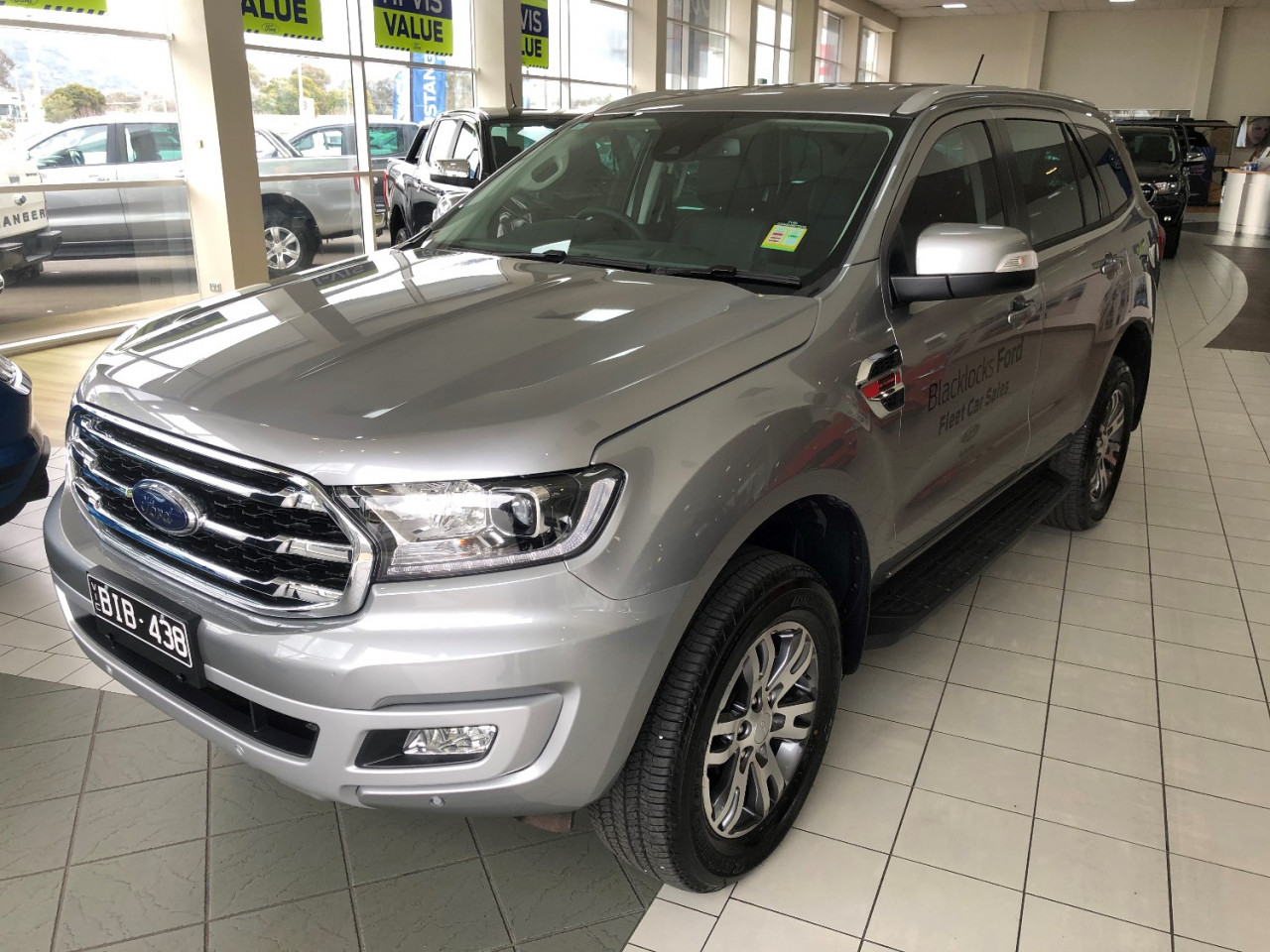 2020 MY20.25 Ford Everest UA II Trend 4WD Suv